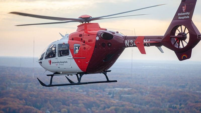 UH TriPoint Medical Center gets AirMed helicopter base